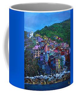 Coffee Mug featuring the painting Italia by Deborah Boyd