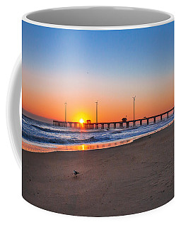 Jennettes Pier Coffee Mug by Mary Almond