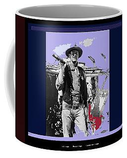 John Wayne Rio Bravo Publicity Photo 1959 Old Tucson Arizona Coffee Mug