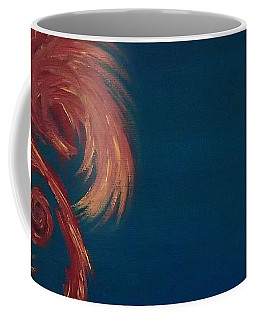 Jumbie Under De' Ocean Coffee Mug by Robert Nickologianis
