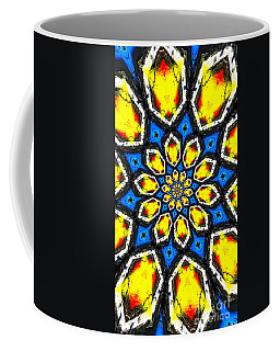 Kaleidoscope Of Primary Colors Coffee Mug