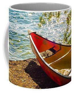Kayak By The Water Coffee Mug