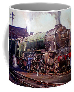 Kenilworth On Shed. Coffee Mug by Mike  Jeffries