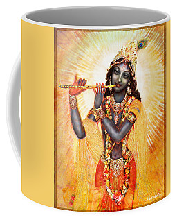 Krishna With The Flute Coffee Mug