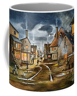 Lady At The Window Coffee Mug