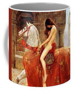 Lady Godiva Coffee Mug by John Collier
