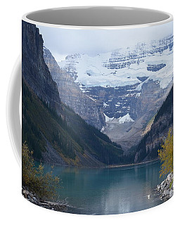Lake Louise In Fall Coffee Mug