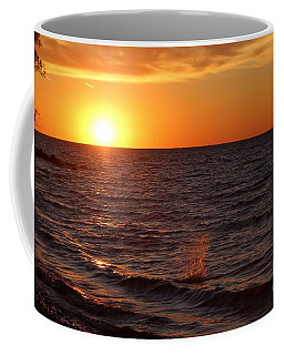 Coffee Mug featuring the photograph Lake Ontario Sunset by Jemmy Archer