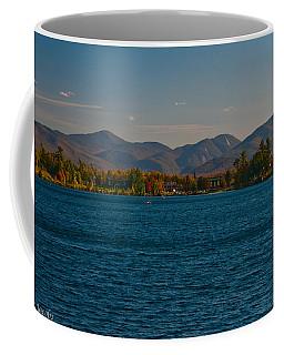 Lake Placid And The Adirondack Mountain Range Coffee Mug