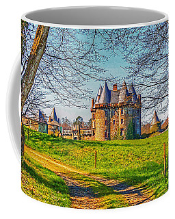 Coffee Mug featuring the photograph Chateau De Landale by Elf Evans