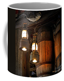 Lantern Glow Coffee Mug by Nava Thompson