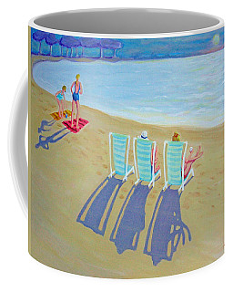 Sunset On Beach - Last Rays Coffee Mug