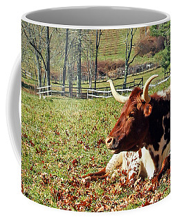 Lazy Morning Bull Coffee Mug