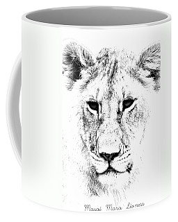 Lion Portrait Coffee Mug