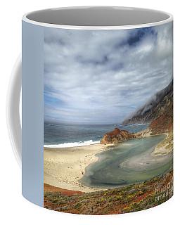 Little Sur River In Big Sur Coffee Mug