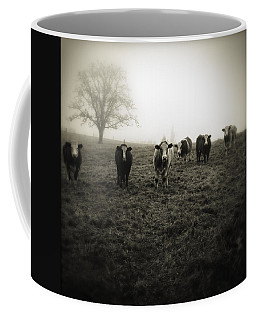 Livestock Coffee Mug by Les Cunliffe