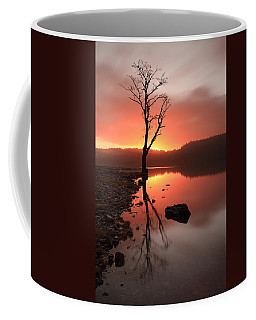 Coffee Mug featuring the photograph Loch Ard Sunrise by Grant Glendinning