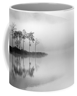 Loch Ard Trees In The Mist Coffee Mug