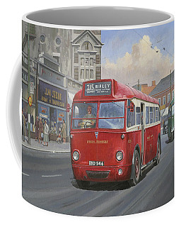 London Transport Q Type. Coffee Mug by Mike  Jeffries