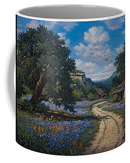 Coffee Mug featuring the painting Lone Star Vision by Kyle Wood