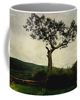 Coffee Mug featuring the photograph Lonely Tree by Trina  Ansel