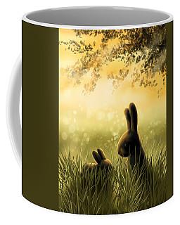 Love Coffee Mug by Veronica Minozzi