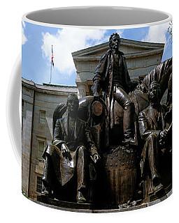 Low Angle View Of Statue Coffee Mug