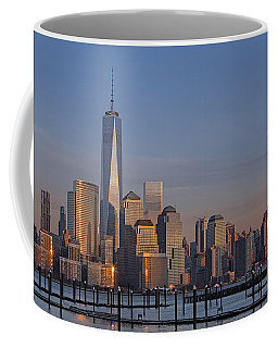 Lower Manhattan Skyline Coffee Mug