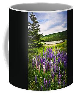 Lupin Flowers In Newfoundland Coffee Mug