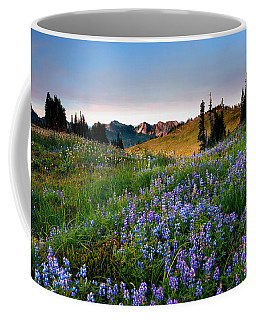 Lupine Sunrise Coffee Mug