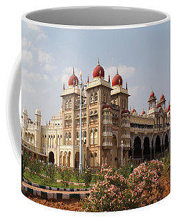 Maharaja's Palace And Garden India Mysore Coffee Mug