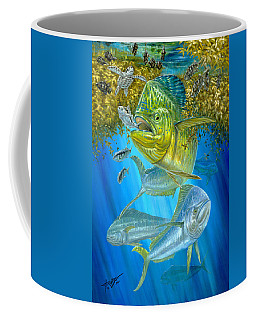 Mahi Mahi Hunting In Sargassum Coffee Mug