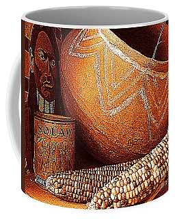 New Orleans Maize The Indian Corn Still Life In Louisiana  Coffee Mug