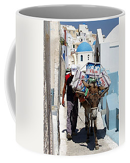 Man And His Pack Mule Coffee Mug