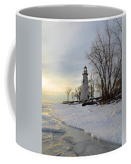 Marblehead Lighthouse Winter Sunrise Coffee Mug