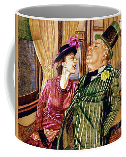 Margaret And W.c. Fields Coffee Mug