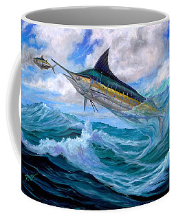 Marlin Low-flying Coffee Mug