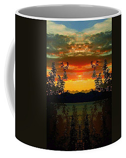 Coffee Mug featuring the photograph Marsh Lake - Yukon by Juergen Weiss