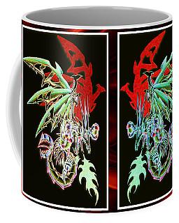 Mech Dragons Pastel Coffee Mug