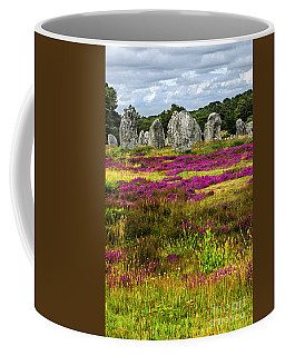 Megalithic Monuments In Brittany Coffee Mug