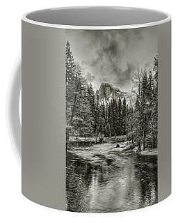 Ascending Clouds Toned Coffee Mug