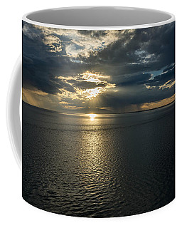 Midnight Sun Over Mount Susitna Coffee Mug by Andrew Matwijec