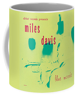 Miles Davis -  Blue Moods Coffee Mug