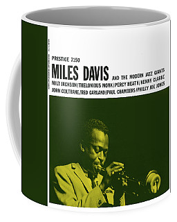 Miles Davis -  Miles Davis And The Modern Jazz Giants (prestige 7150) Coffee Mug
