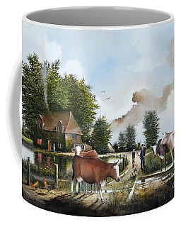 Milking Time Coffee Mug