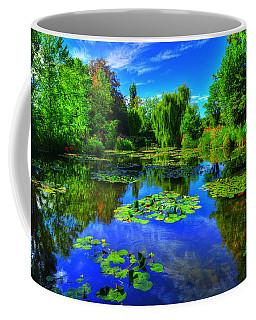 Monet's Lily Pond Coffee Mug by Midori Chan