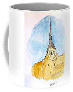 Mont Saint Micheal Coffee Mug