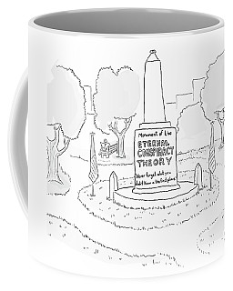 Monument Of The Eternal Conspiracy Theory Coffee Mug