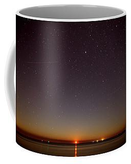 Moonrise On Tybee Island Coffee Mug