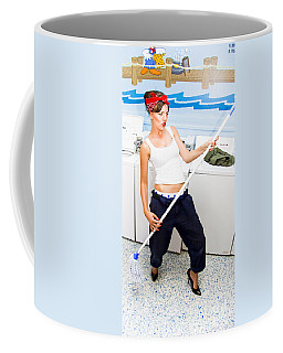 Mop And Roll Coffee Mug